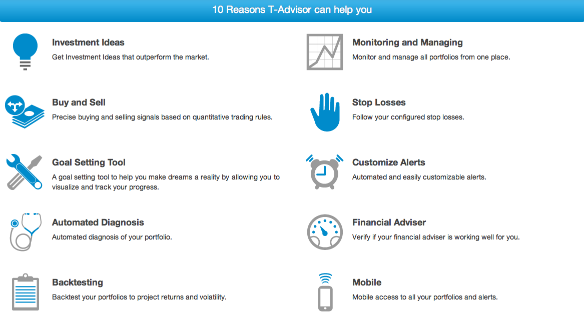 10 advantages of T-Advisor: performance improvement