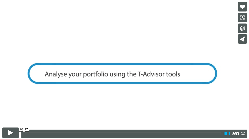Analyse your portfolio using T-Advisor tools