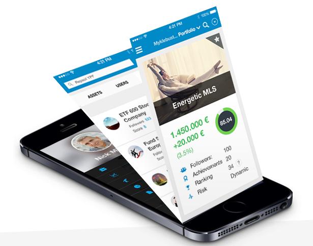Robot asesores : imagen de la app de T-Advisor