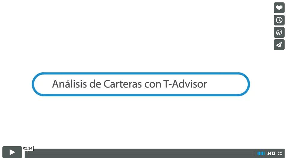 Análisis de carteras con T-Advisor