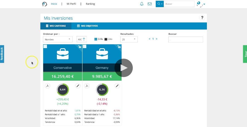Vídeo sobre cómo enlazar una cartera a una meta financiera